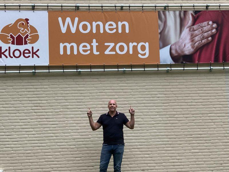 Arno Wezenbeek bij Kloek Roosendaal
