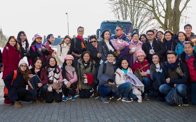 Bezoek uit Thailand bij Kloek Roosendaal