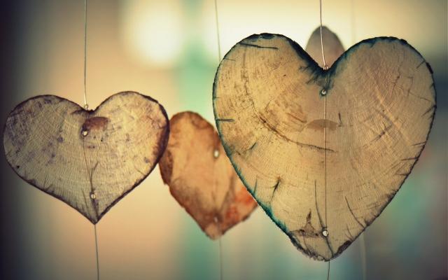 Hart als symbool voor warm gesprek