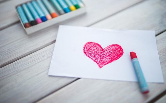 Hart als symbool voor aandacht bij Kloek