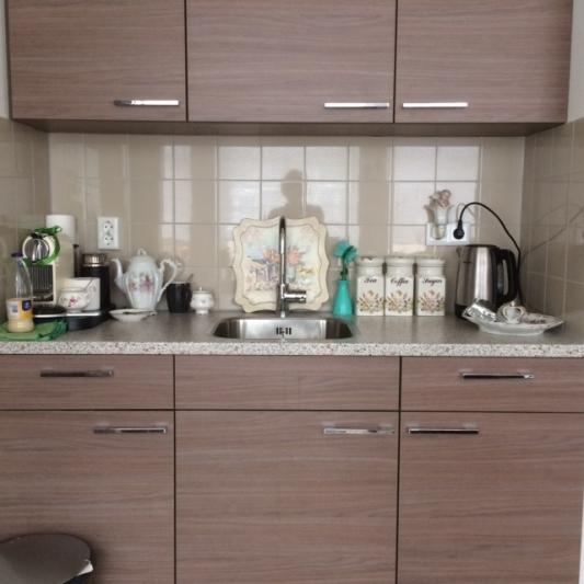 Keukenblokje in appartement Kloek Amsterdam