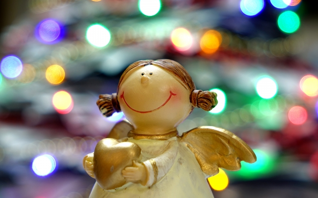 Engeltje als symbool voor Kerst bij Kloek