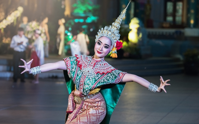 Thaise danseres