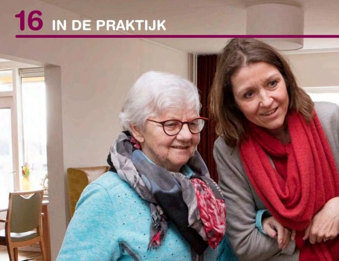 Artikel in vakblad over onze dementiecoach Karin Kuhlmann