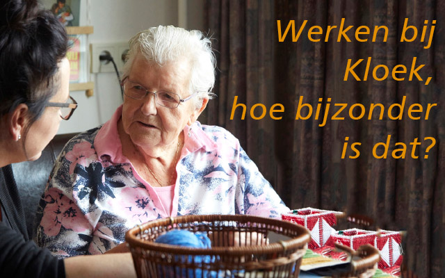 werken bij Kloek